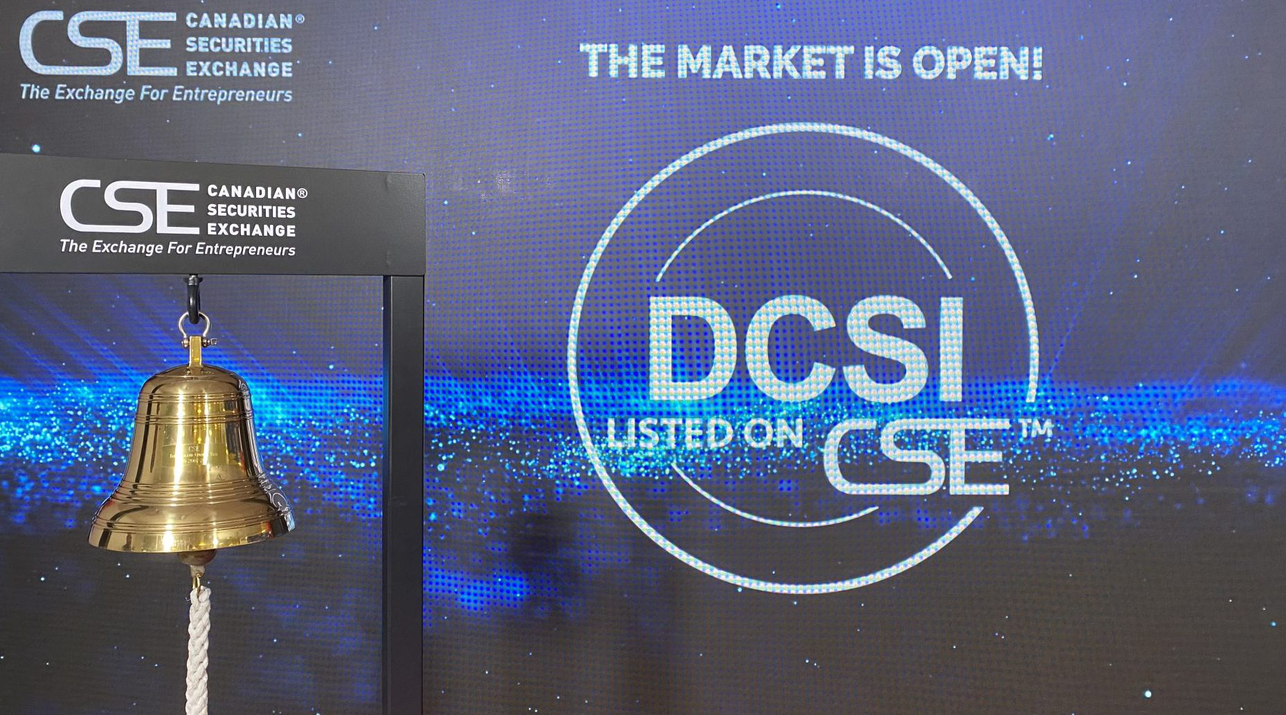 DIRECT COMMUNICATION SOLUTIONS INC. OPENS THE MARKET AT THE CSE MEDIA CENTRE
