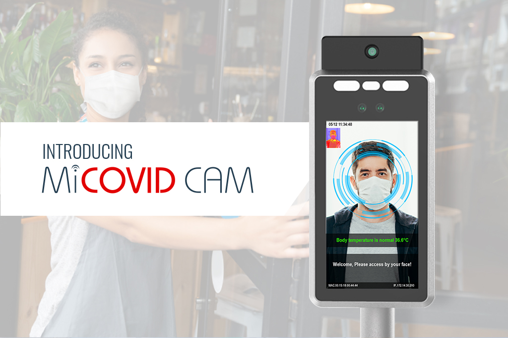 DCS Launches MiCovid Cam: A Temperature Monitoring Detection System